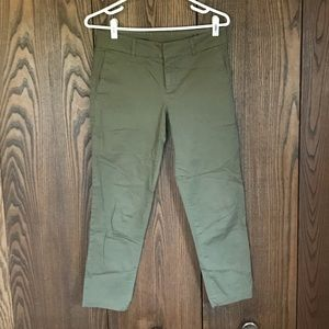 KUT From the Kloth Olive Green Cropped Pants 2